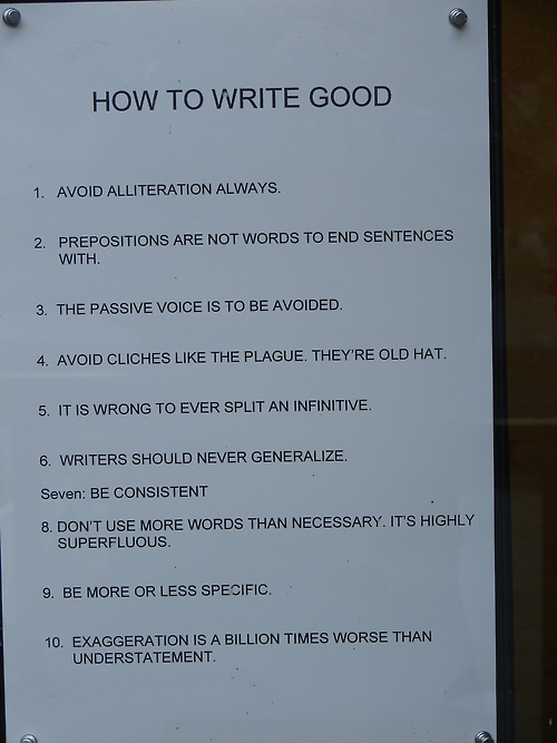 Writing Tips for the Grammar Nerd