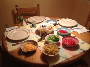 Fajitas is a dish I can safely say I've mastered: cooking chicken and chopping vegetables isn't exactly rocket science.